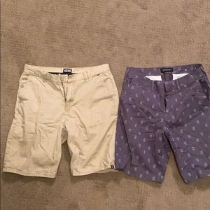 Men's shorts vans/American egale